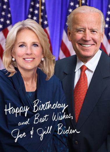 Jill and Joe Biden Funny Political Ecard Cover