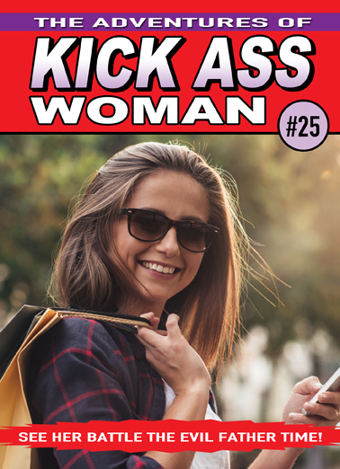 Kick Ass Woman  Card Cover