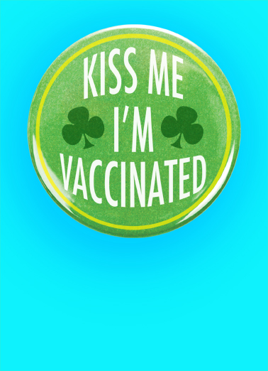 Kiss Me VAC St. Patrick's Day Card Cover