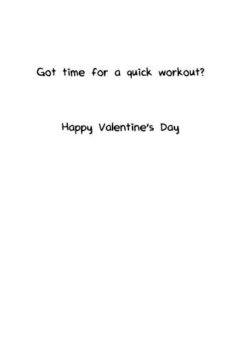 Kissing Workout  Ecard Inside