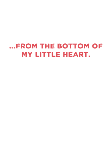 Little Heart (LV) Love Card Inside