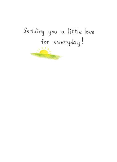 Little Wish Say Hi Card Inside