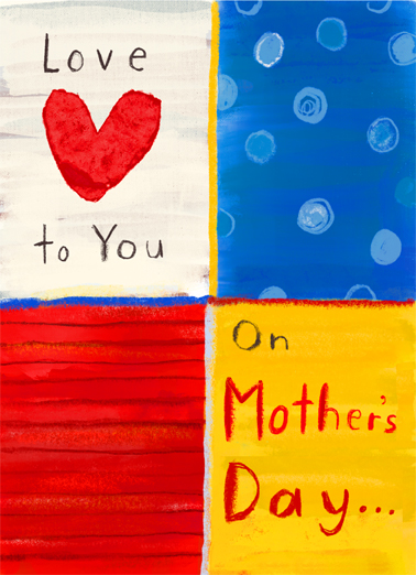 Love to Mother Mother's Day Ecard Cover