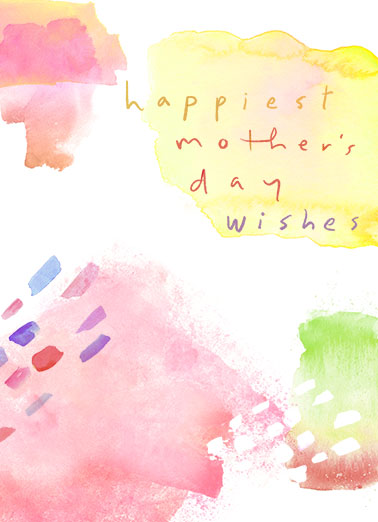 MD Watercolor Mother's Day Ecard Cover