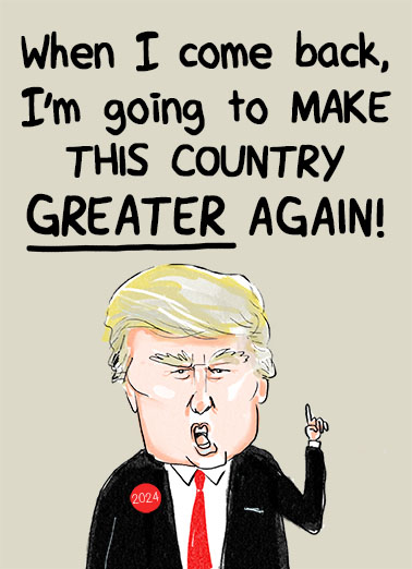 Make It Greater President Donald Trump Ecard Cover
