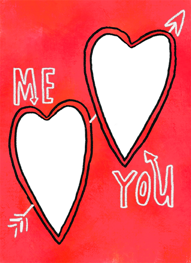 Me You Val Valentine's Day Ecard Cover