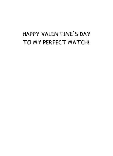 Me You Val Valentine's Day Ecard Inside