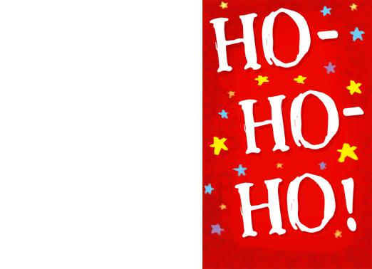 Merriest-horiz Christmas Card Cover