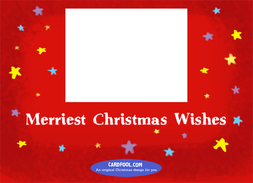 Merriest-horiz Christmas Card Inside