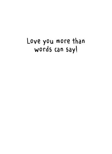 Mime (LV) Love Ecard Inside