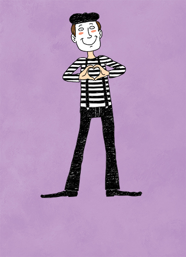 Mime Cards for Chris Card Cover