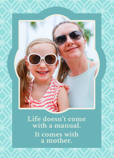 Mother Guide Mother's Day Ecard Cover