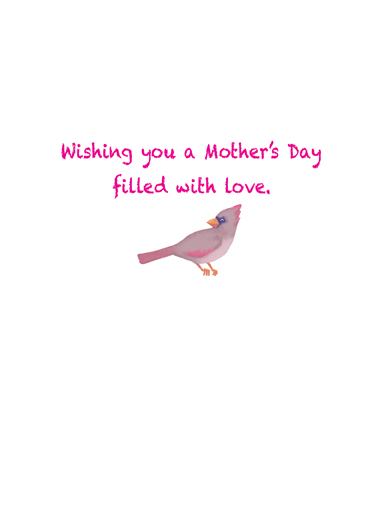 Mother's Day Birds Mother's Day Ecard Inside