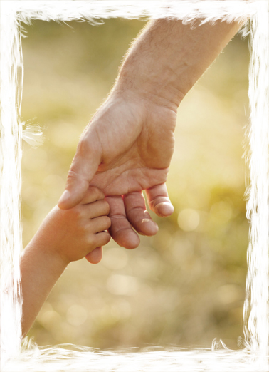 Never Let Go (FD) Father's Day Ecard Cover