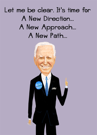New Path President Donald Trump Ecard Cover