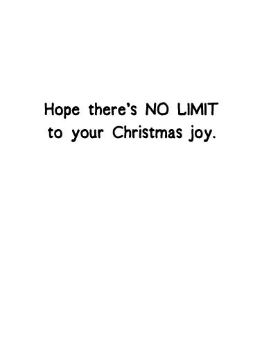 No Limit XMAS Christmas Ecard Inside