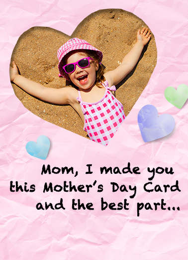 No Mess For Mom Ecard Cover