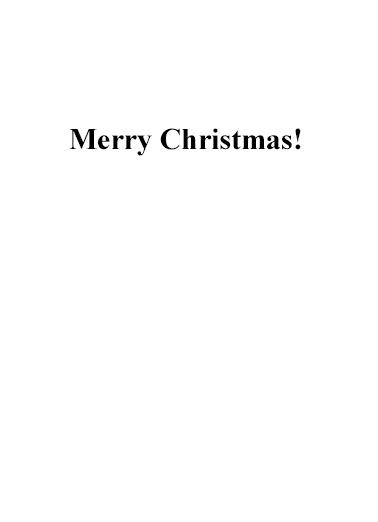North Pole News Christmas Card Inside