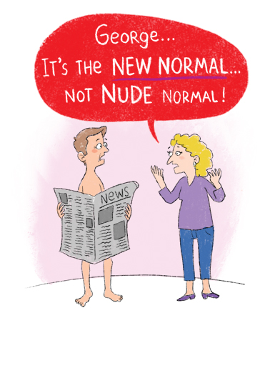 Nude Normal VAL Quarantine Card Cover