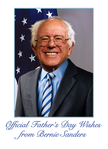 Official Bernie FD  Card Cover