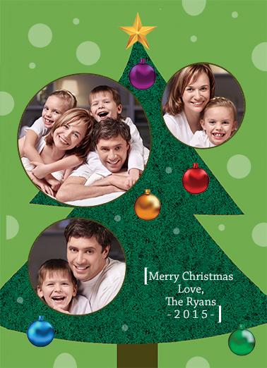 Ornaments Christmas Ecard Cover