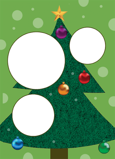 Ornaments Christmas Ecard Cover