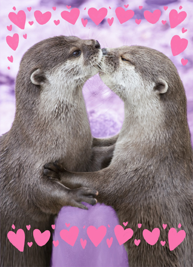 Otterly Val  Ecard Cover