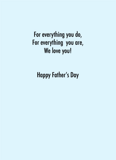 Our Hero FD Father's Day Card Inside