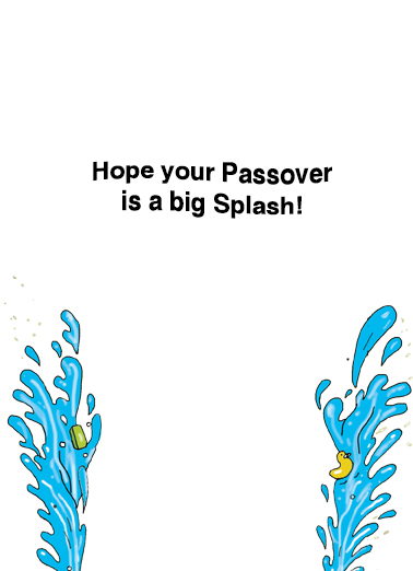 Passover Moses Passover Ecard Inside