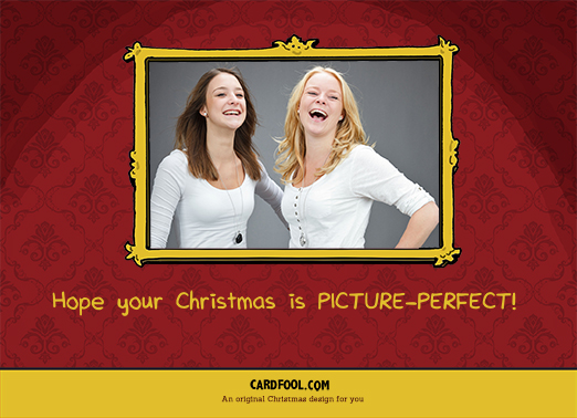 Picture Perfect Christmas Card Inside