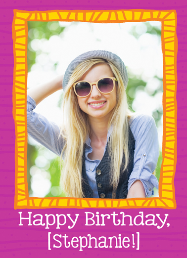 Picture of Happiness Birthday Card Cover
