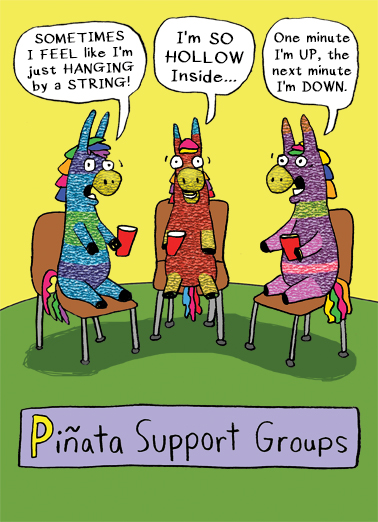 Pinata Support Groups  Card Cover