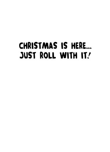 Prankster Christmas Ecard Inside
