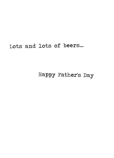 Raising Kids Beer Ecard Inside