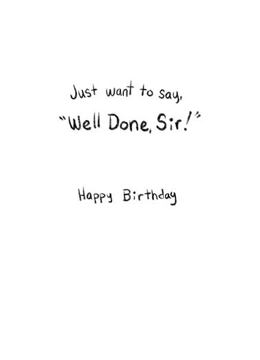 Rare Birthday Birthday Card Inside