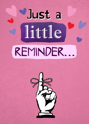 Reminder (LV) Love Ecard Cover