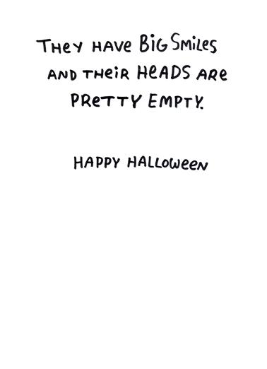 Republican Pumpkins Halloween Ecard Inside