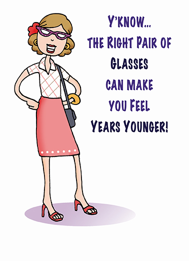 Right Glasses Clinking Buddies Ecard Cover