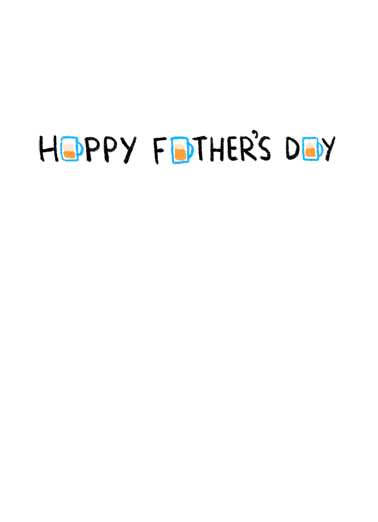 Right Mask FD Father's Day Card Inside