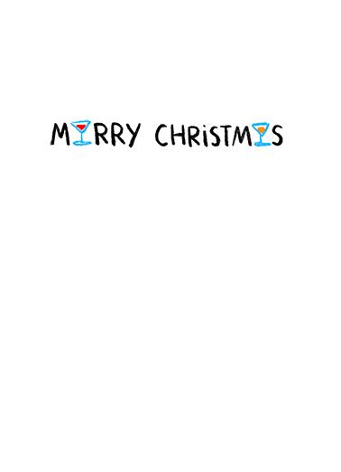 Right Mask XMAS Christmas Card Inside