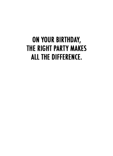Right Party Funny Political Ecard Inside