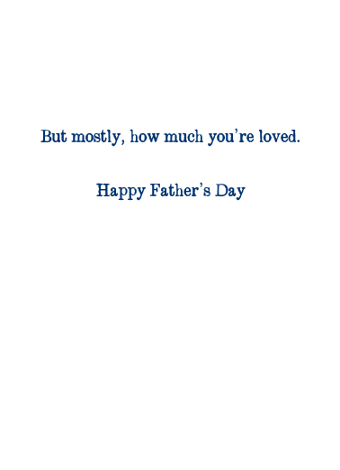 Sailboat FD Father's Day Card Inside