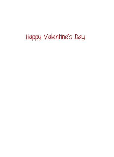 Sappy Valentine's Day Card Inside
