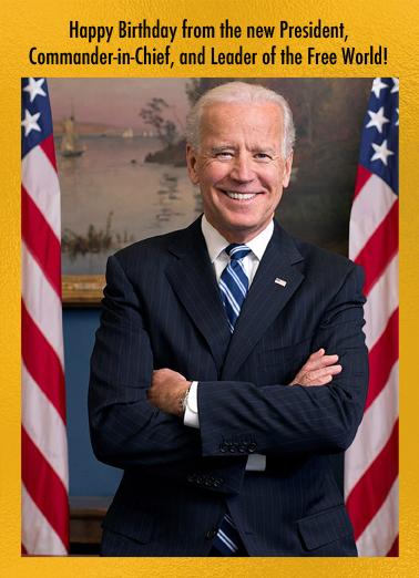 Scary President Biden Funny Political Ecard Cover