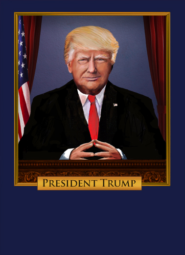 Scary President Trump FD Funny Political Ecard Cover