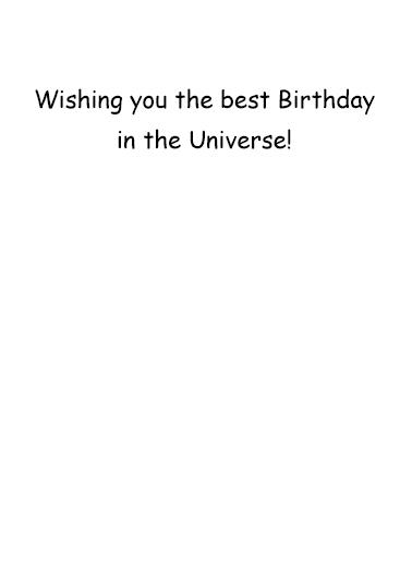 See Uranus Birthday Card Inside