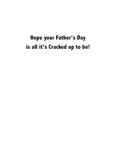 Seen My Phone Father's Day Ecard Inside