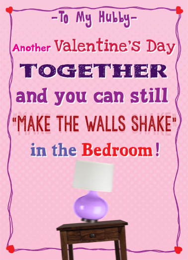 Shake Valentine's Day Card Cover