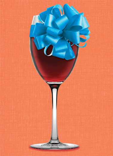 Shop For (B) Wine Ecard Cover