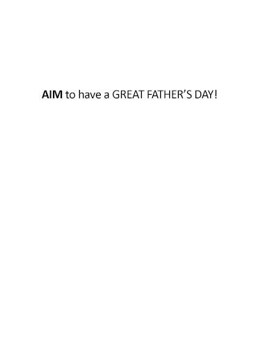 Six Feet Away Dad  Card Inside